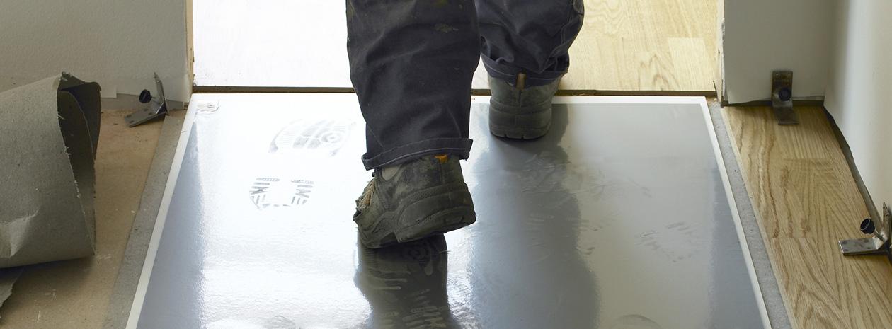 Comfort Mats - Walk-N-Clean specialmatta för extra smutskontroll.